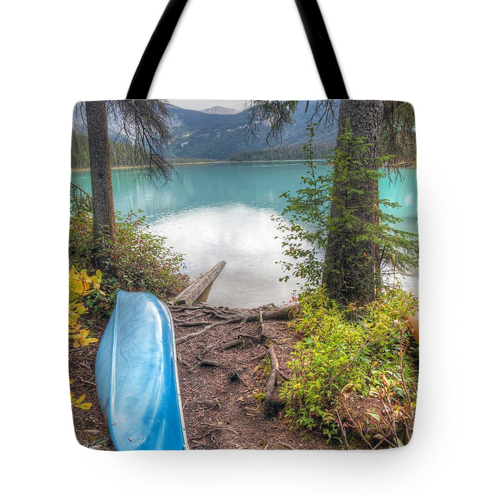 Emerald Tote Bag featuring the photograph 0162 Emerald Lake by Steve Sturgill