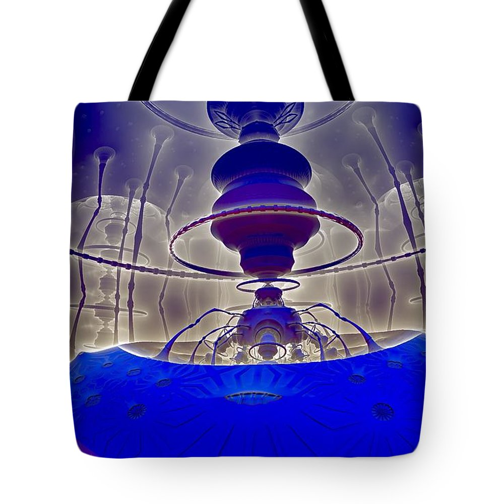 Still Life Tote Bag featuring the painting 0525 by I J T Son Of Jesus