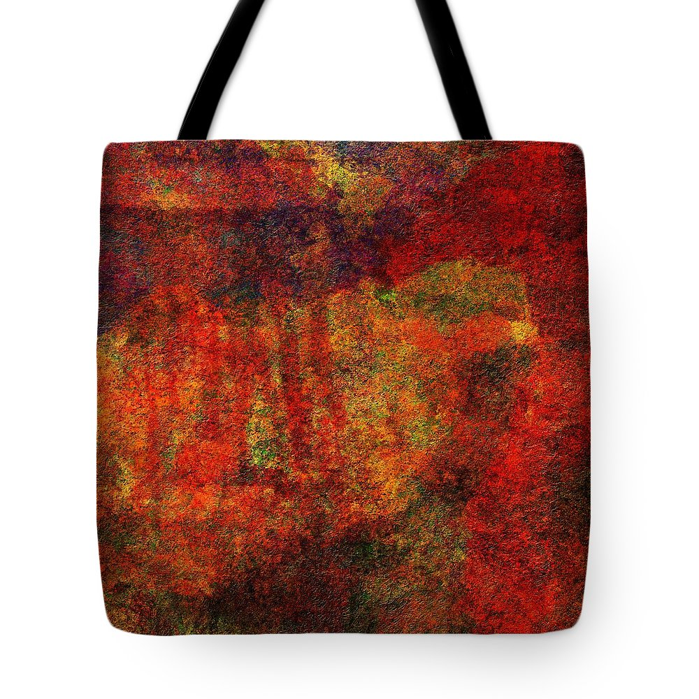 Abstract Tote Bag featuring the digital art 0911 Abstract Thought by Chowdary V Arikatla