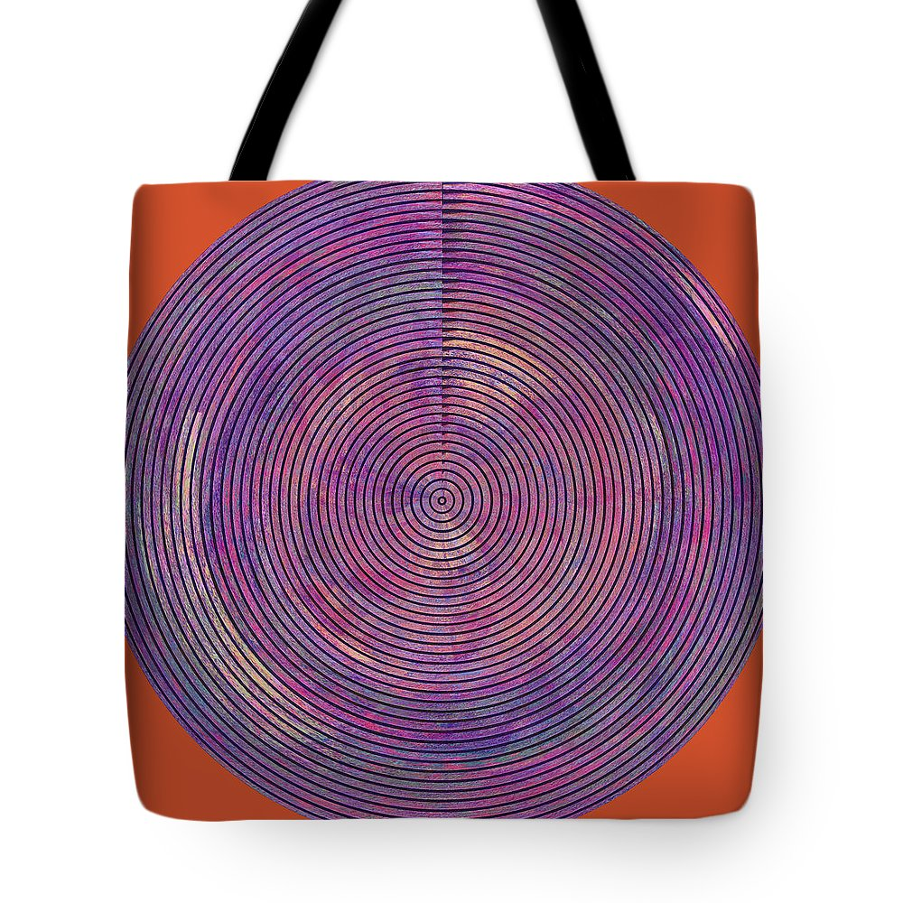 Abstract Tote Bag featuring the digital art 0965 Abstract Thought by Chowdary V Arikatla
