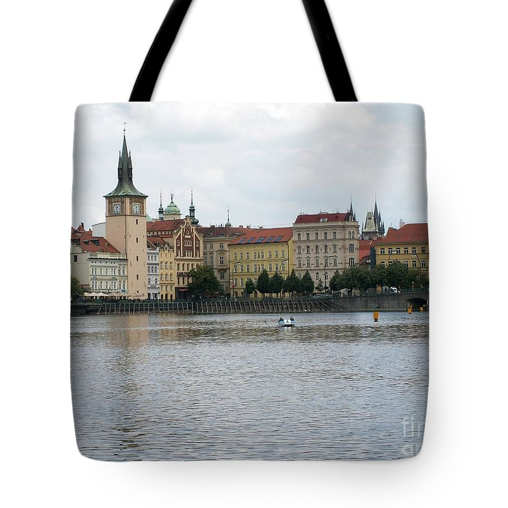 View Tote Bag featuring the photograph Praga by Evgeny Pisarev
