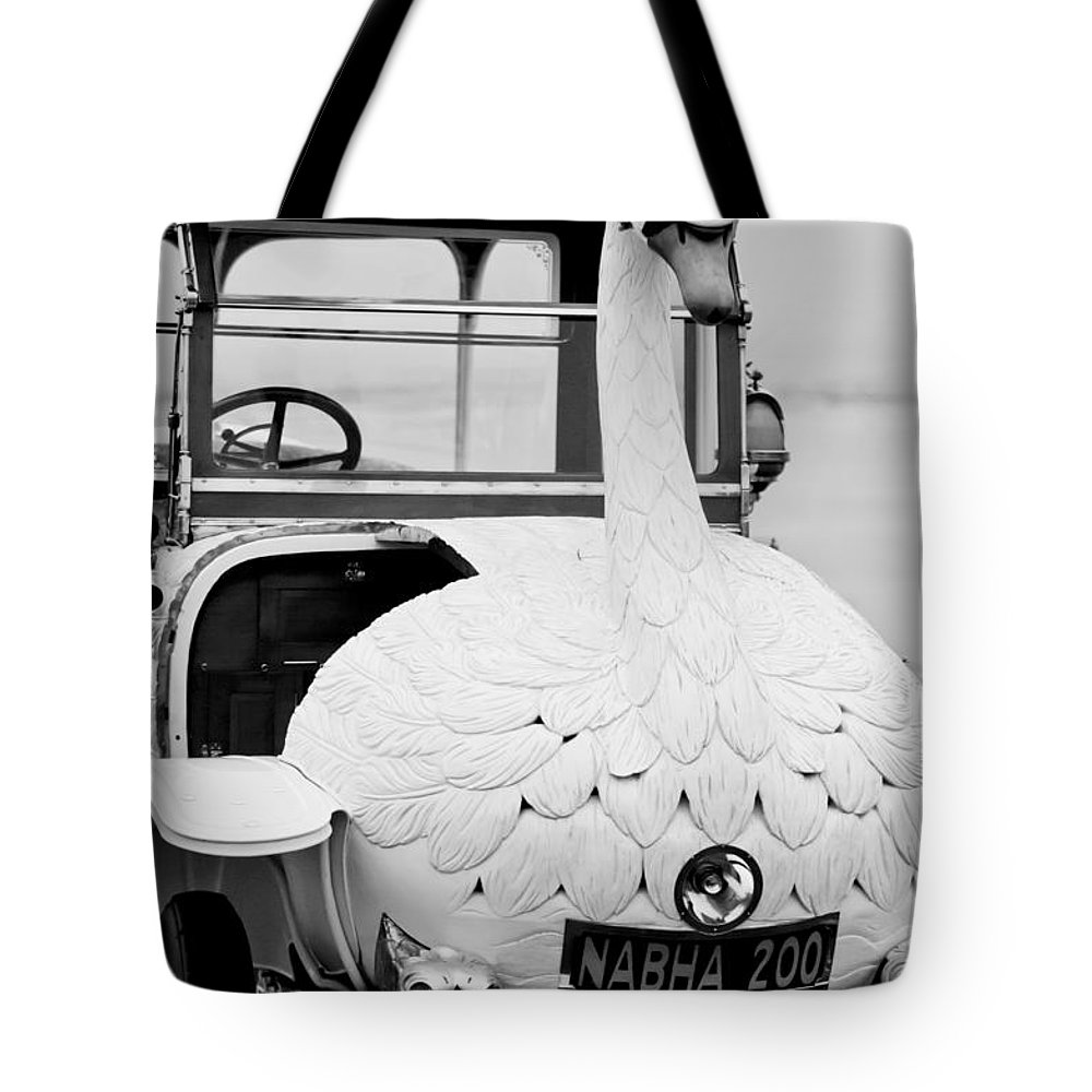 1910 Brooke Swan Car Tote Bag featuring the photograph 1910 Brooke Swan Car by Jill Reger