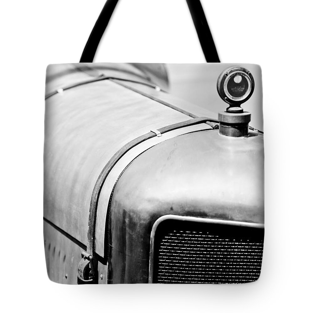 1919 Miller Tnt Grille Tote Bag featuring the photograph 1919 Miller Tnt Grille by Jill Reger