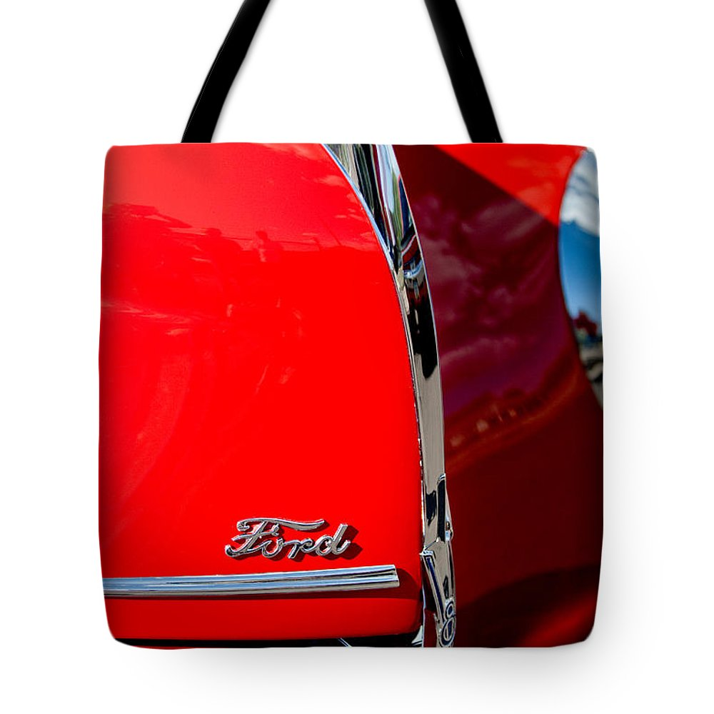 1939 Ford Grille Tote Bag featuring the photograph 1939 Ford Grille by Jill Reger