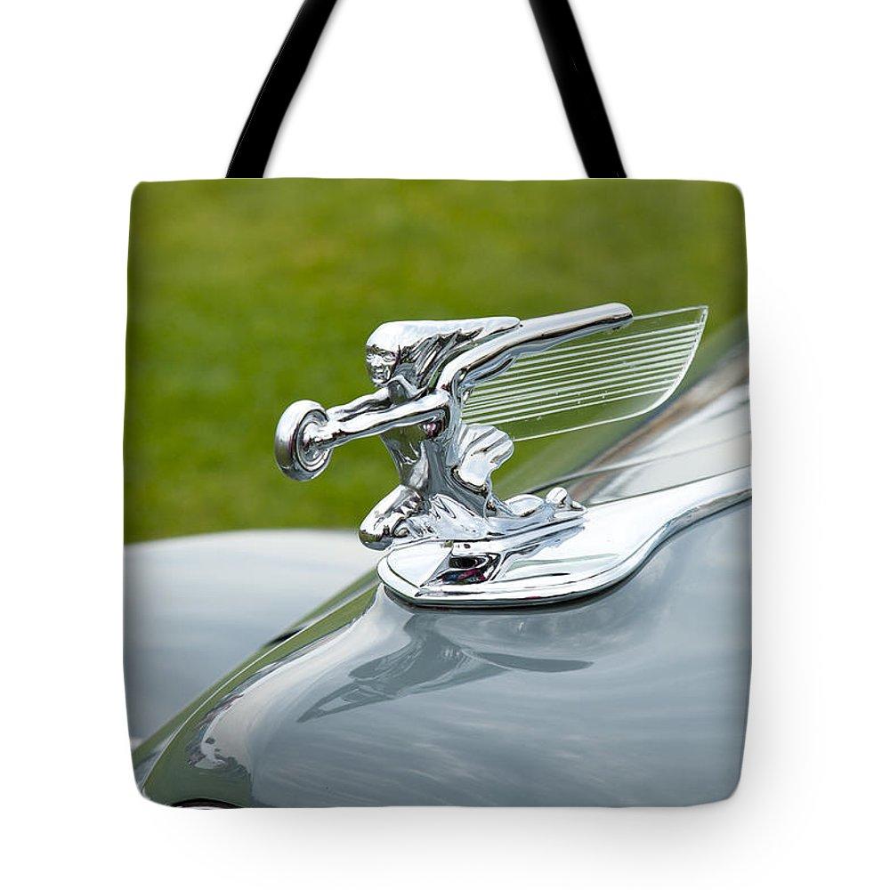 Glenmoor Tote Bag featuring the photograph 1940 Packard by Jack R Perry