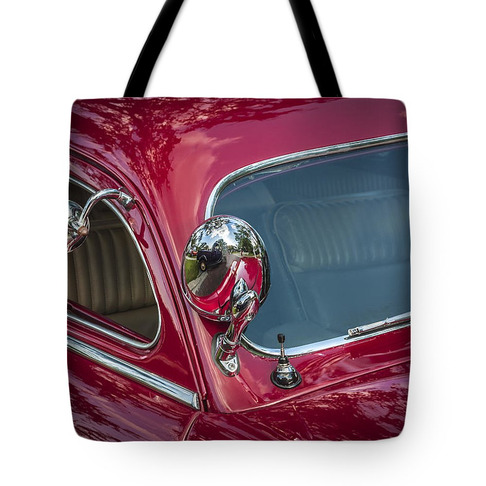 1949 Mercury Club Coupe Tote Bag featuring the photograph 1949 Mercury Club Coupe by Rich Franco
