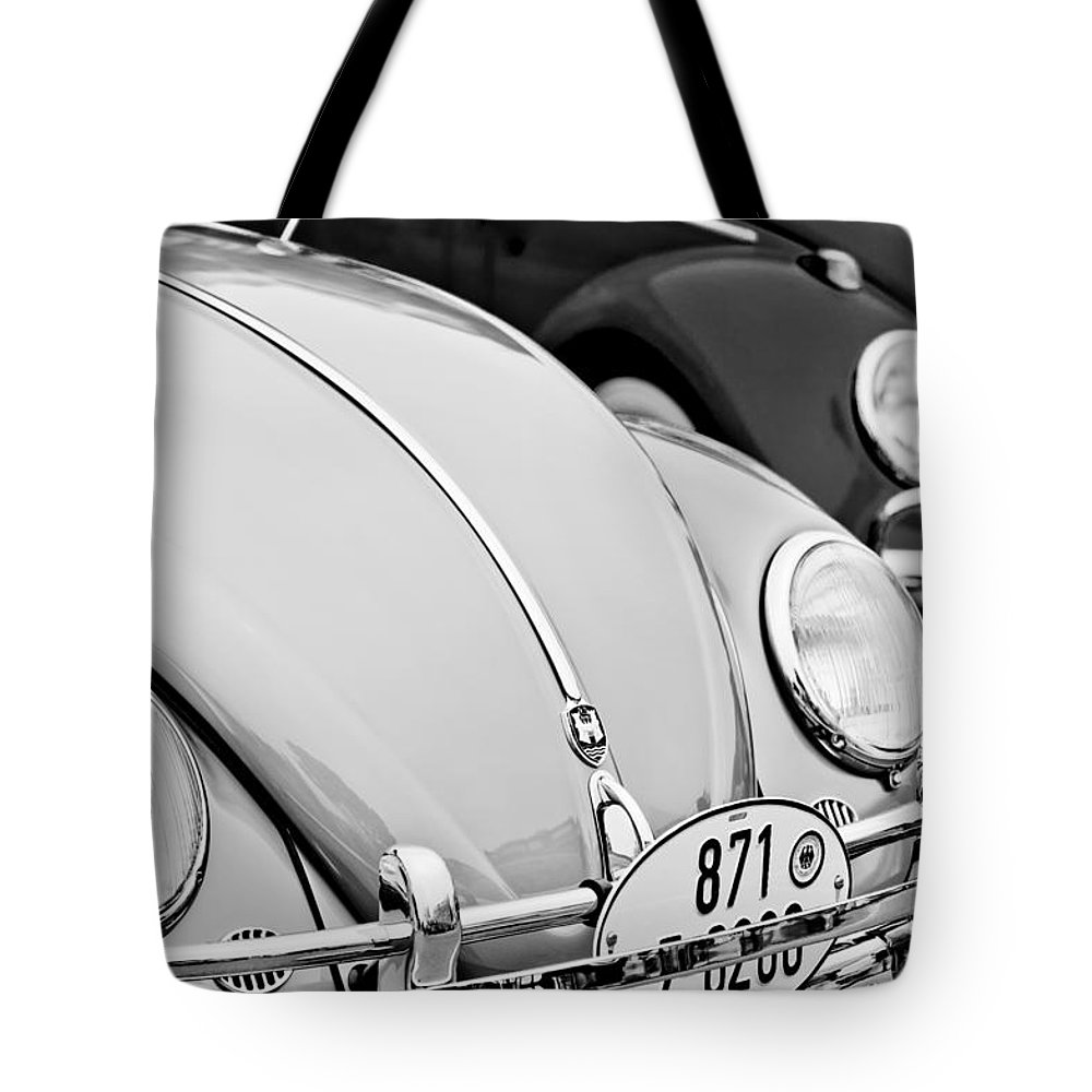 1956 Volkswagen Vw Bug Tote Bag featuring the photograph 1956 Volkswagen Vw Bug by Jill Reger