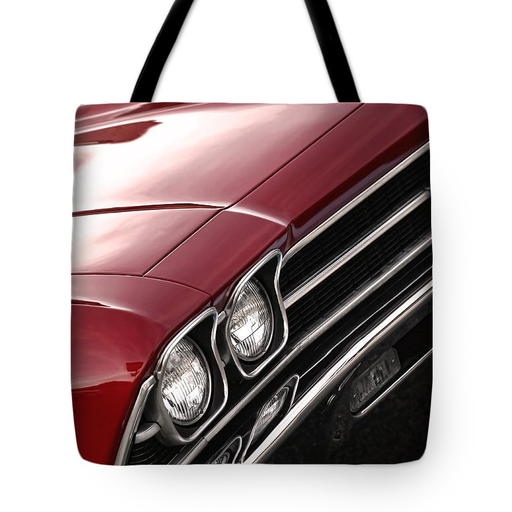 1967 Tote Bag featuring the photograph 1969 Chevrolet Chevelle Ss 396 by Gordon Dean II
