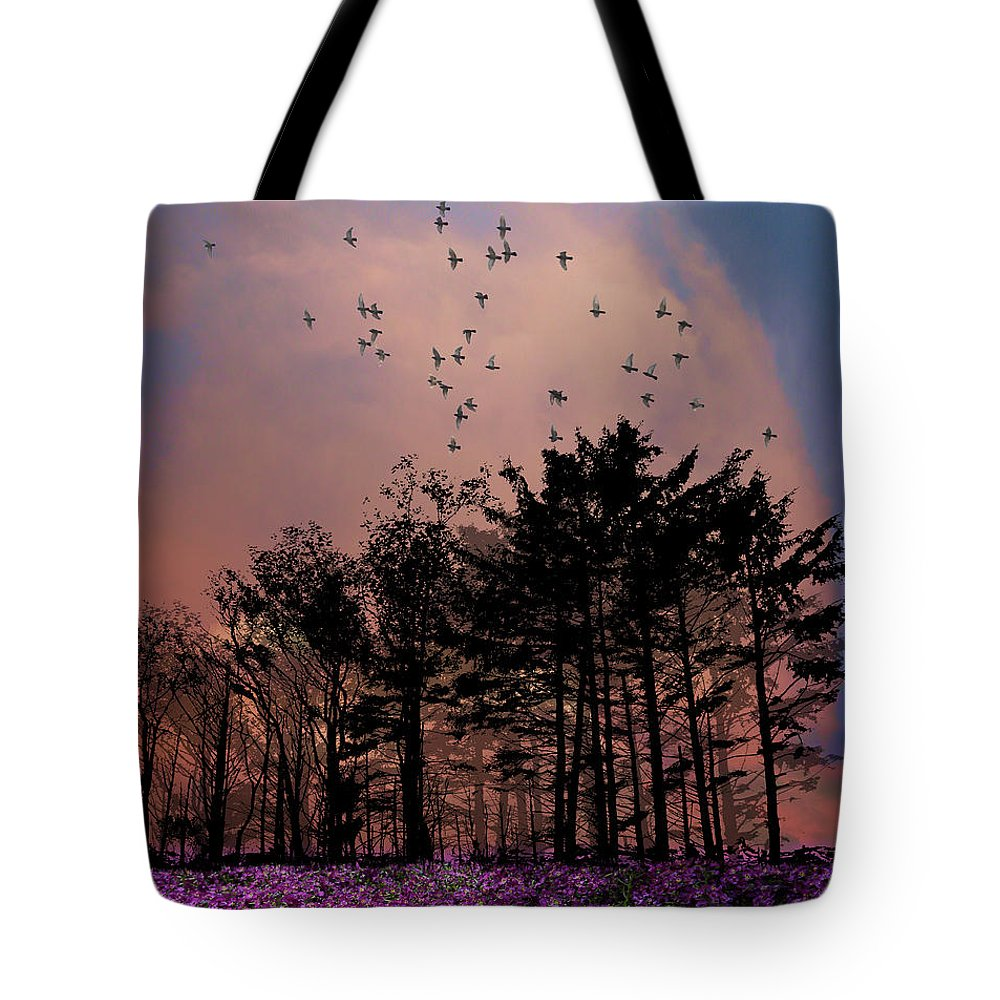 Trees Tote Bag featuring the photograph 3112 by Peter Holme III