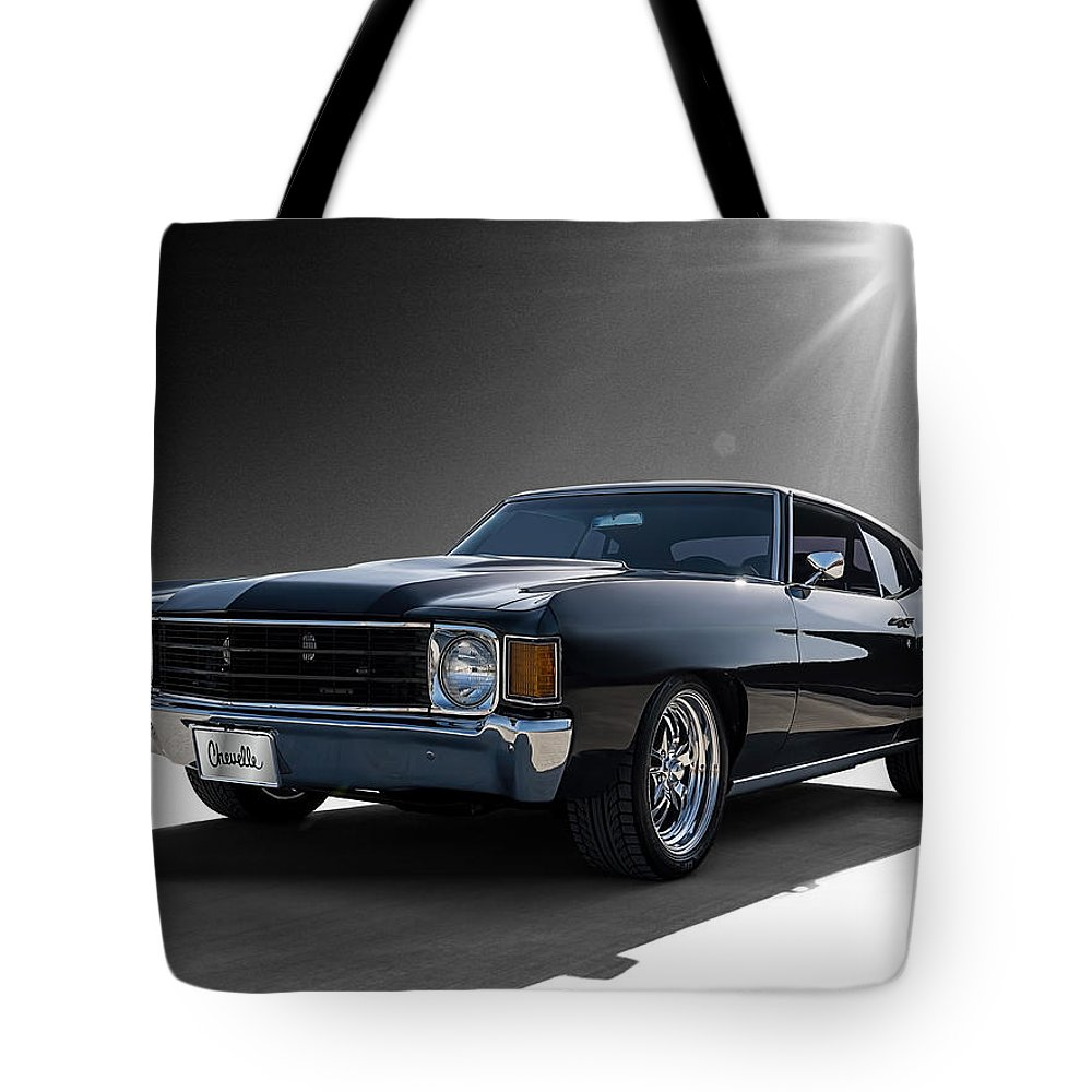 Chevrolet Chevelle Tote Bags
