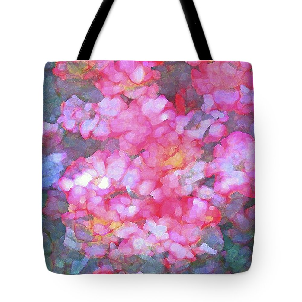 Abstract Tote Bag featuring the photograph Abstract 279 by Pamela Cooper
