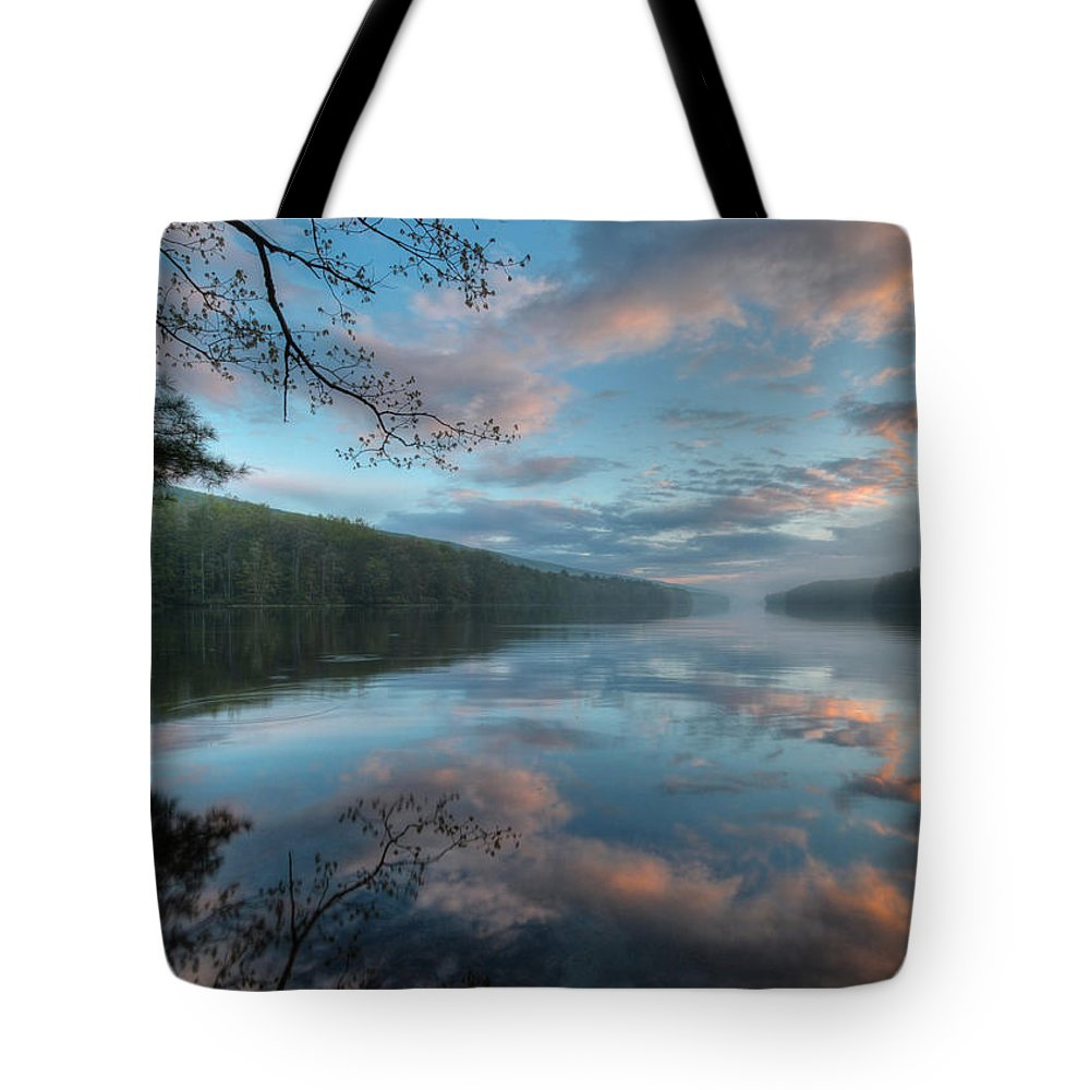 Clouds Tote Bag featuring the photograph After The Storm by Lori Deiter