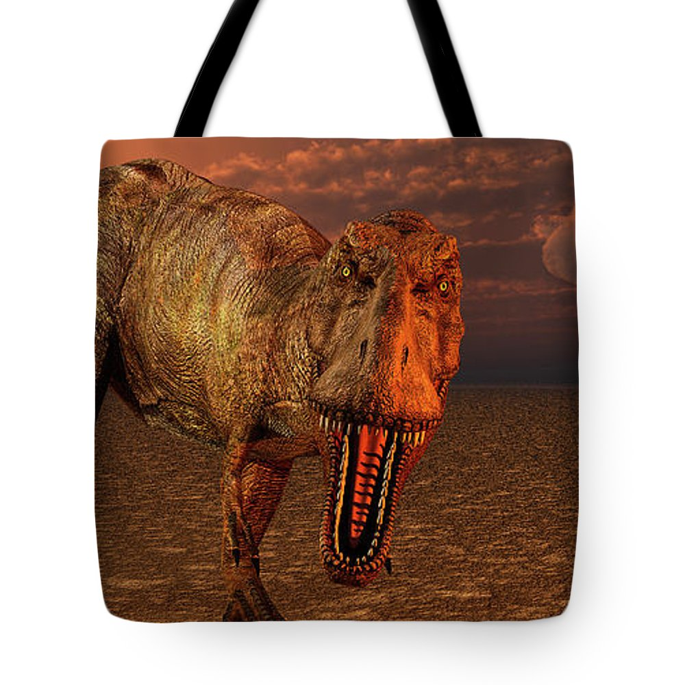 Horizontal Tote Bag featuring the photograph An Asteroid Hitting The Earth, Marking by Mark Stevenson