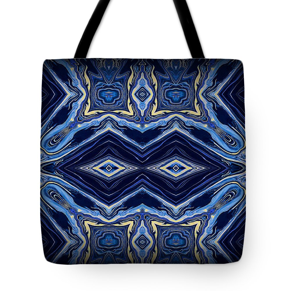 Original Tote Bag featuring the painting Art Series 5 by J D Owen