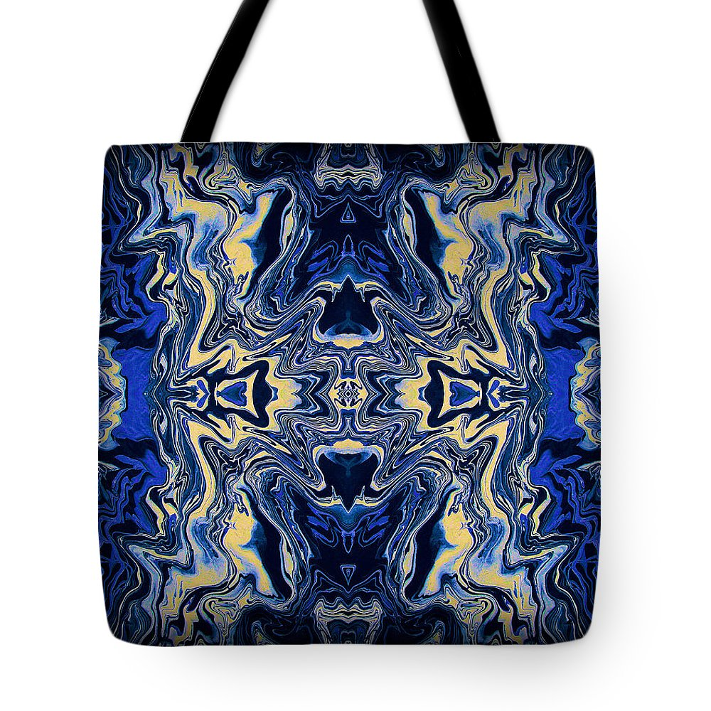 Original Tote Bag featuring the painting Art Series 9 by J D Owen