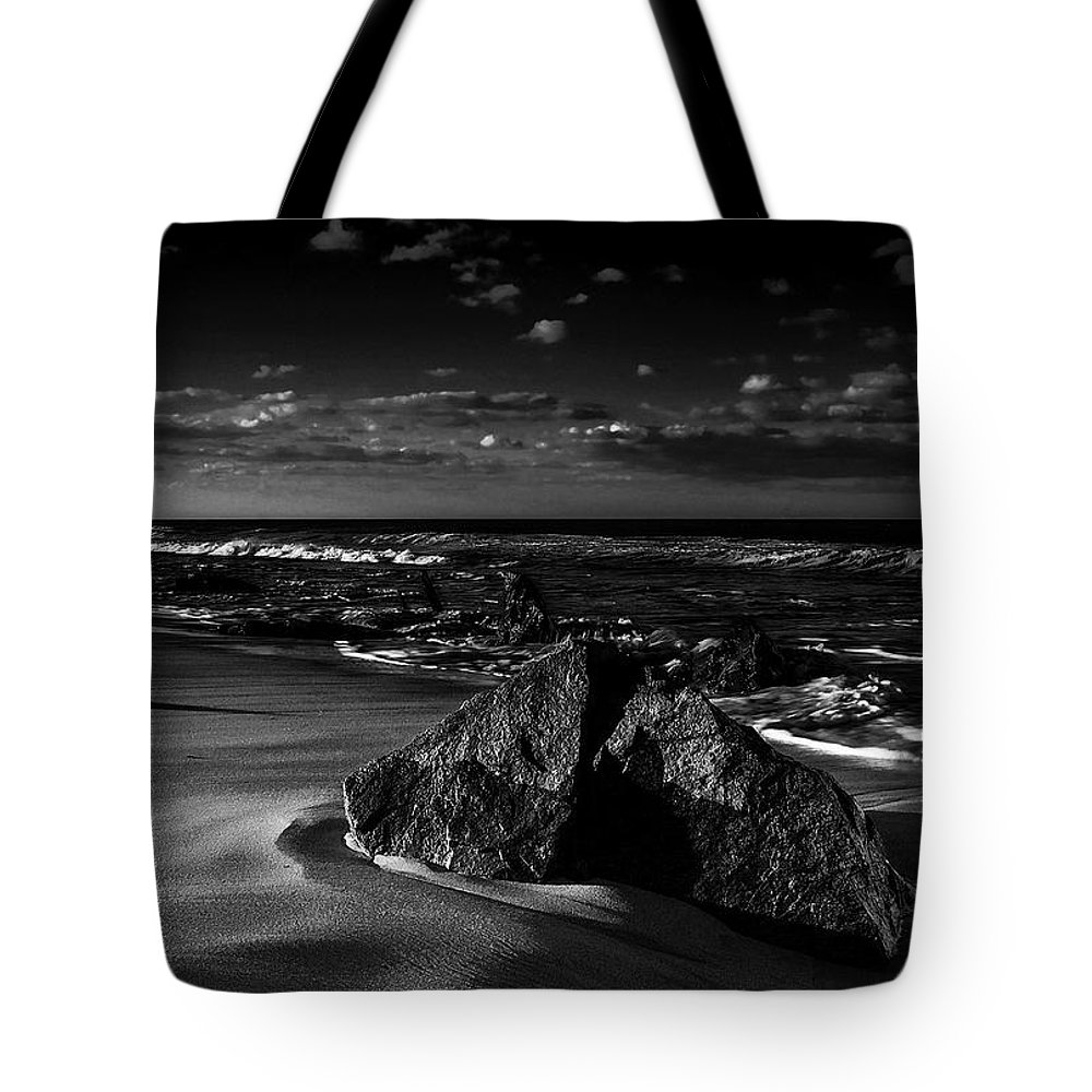 Beach Tote Bag featuring the photograph Beach 18 by Ingrid Smith-Johnsen