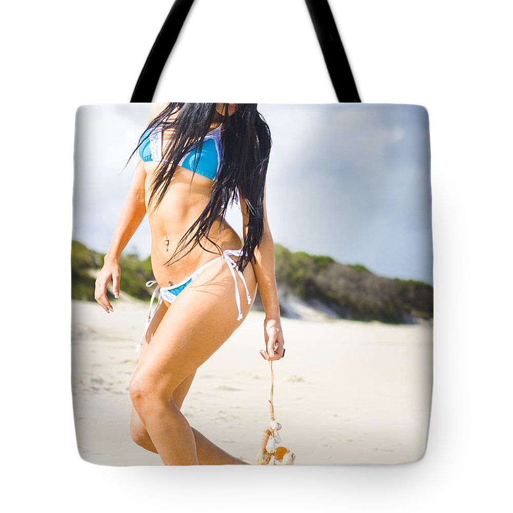 Attractive Tote Bag featuring the photograph Beach Dreams by Jorgo Photography - Wall Art Gallery