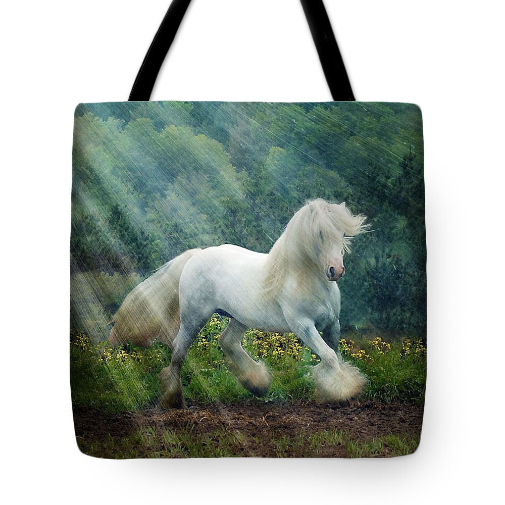 Horse Photographs Tote Bag featuring the photograph Billy Rays by Fran J Scott