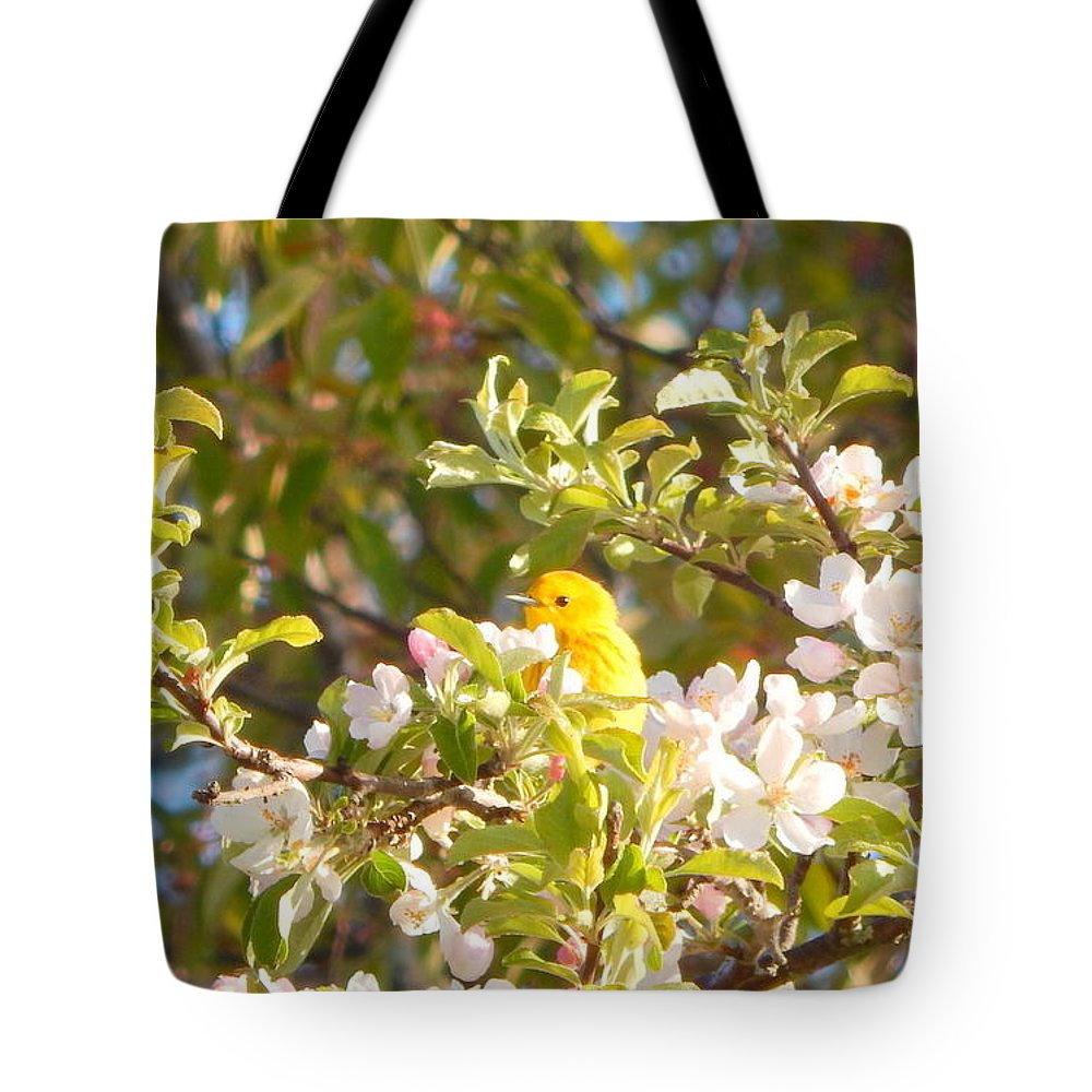 Blossom Time Tote Bag featuring the photograph Blossom Time by Karen Cook