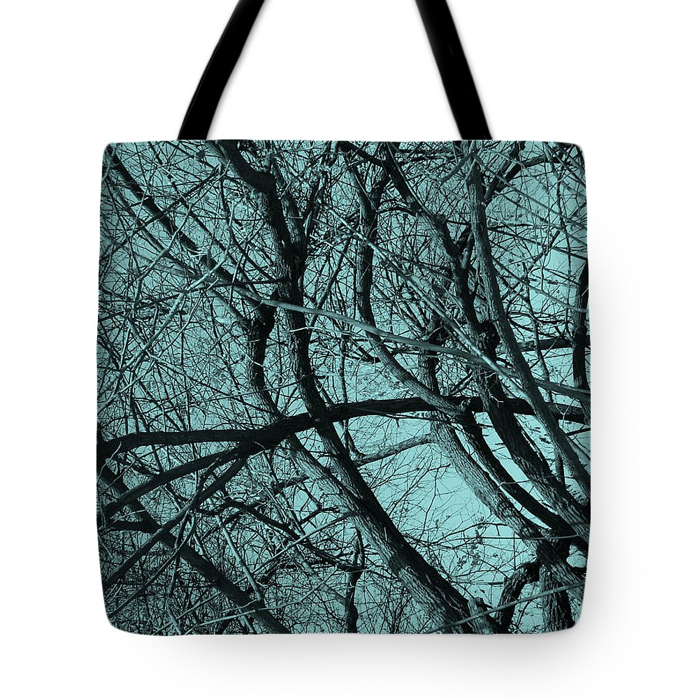 Branches Tote Bag featuring the photograph Branches by Bliss Of Art