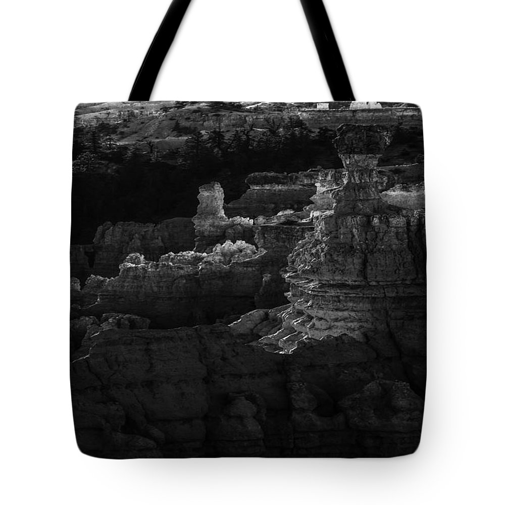 Adventure Tote Bag featuring the photograph Bryce Canyon 12 by Ingrid Smith-Johnsen