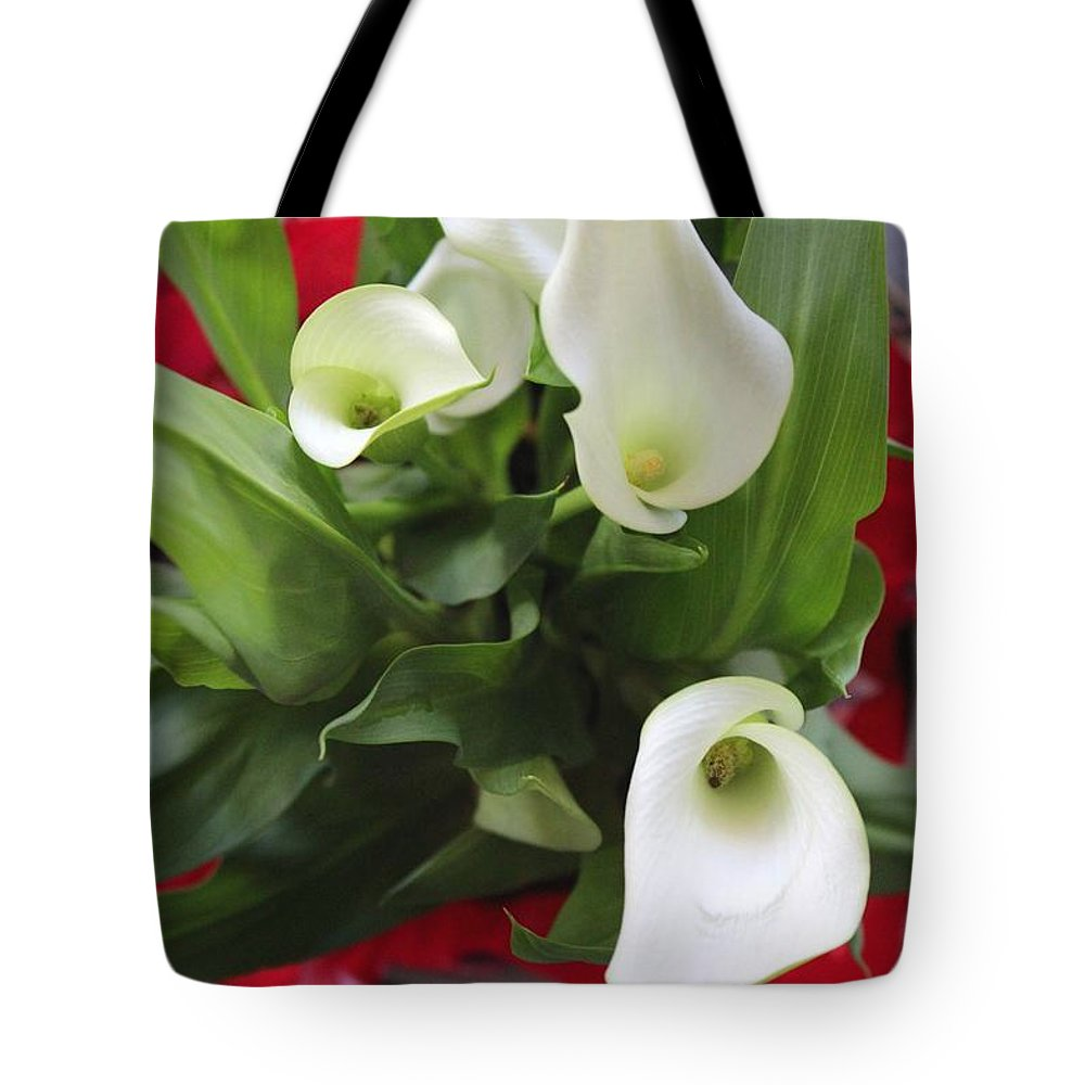 Photograph Tote Bag featuring the photograph Calli Lily by Michael C Crane