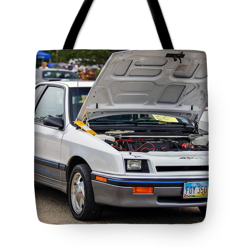 Dodge Shelby Csx-t Tote Bag featuring the photograph Car Show 043 by Josh Bryant