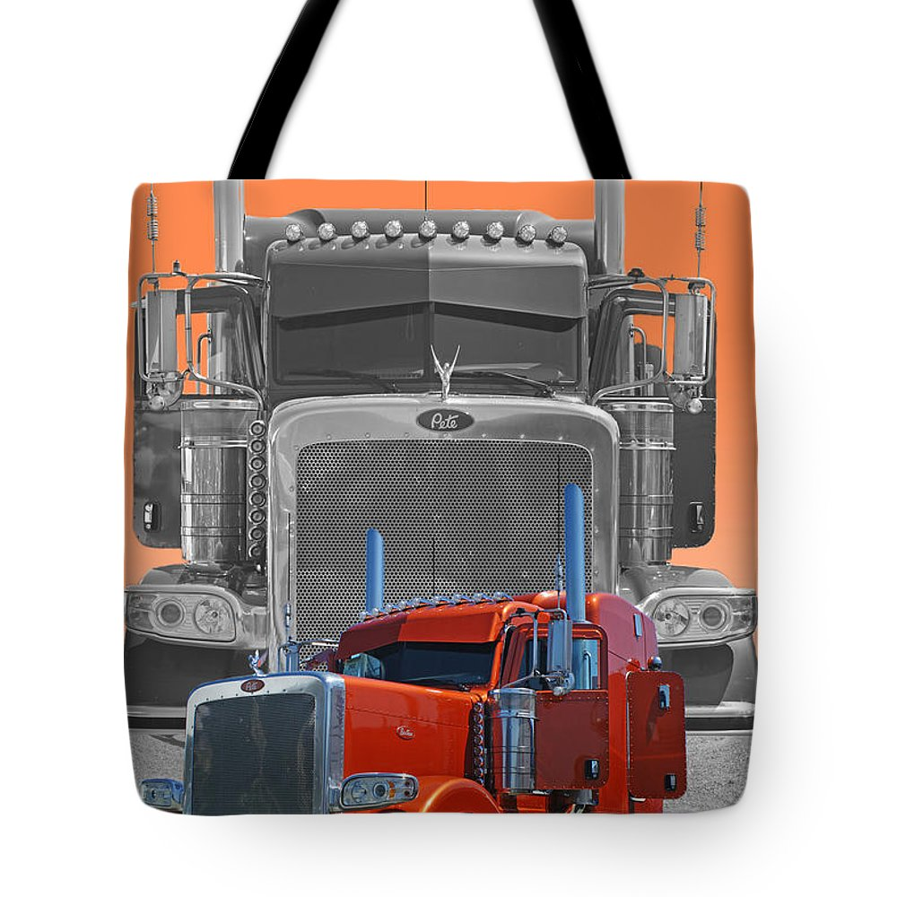 Trucks Tote Bag featuring the photograph Catr3079a-13 by Randy Harris