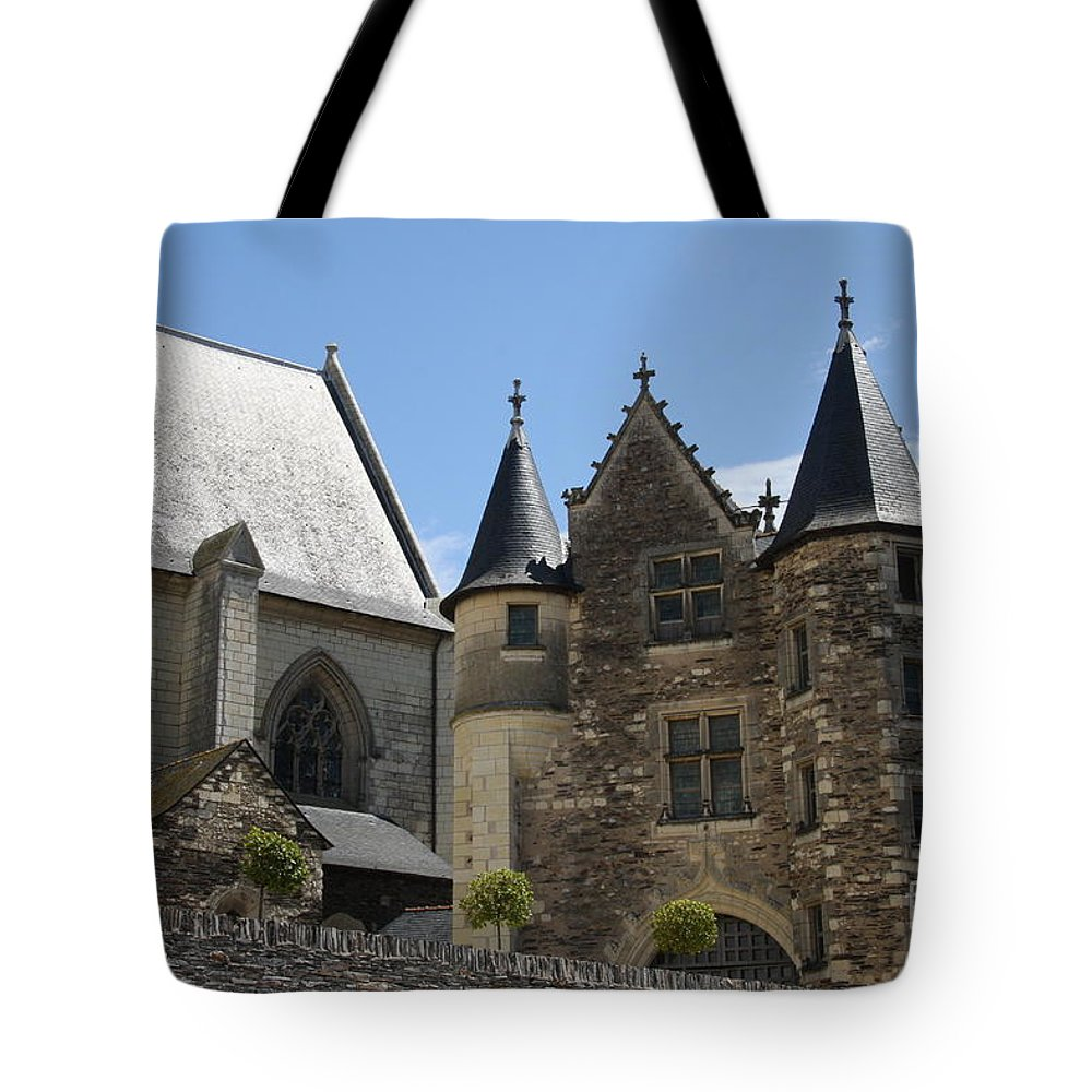 Castle Tote Bag featuring the photograph Chateau D'angers by Christiane Schulze Art And Photography