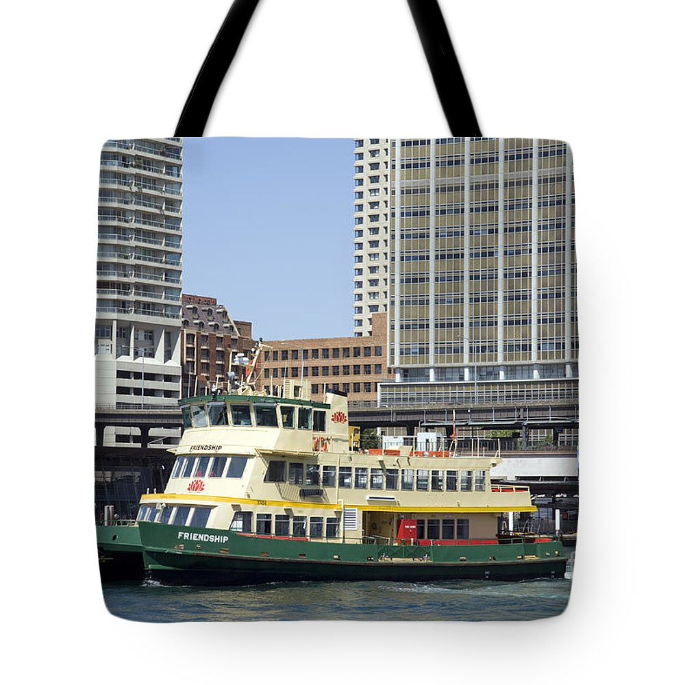 Sydney Tote Bag featuring the photograph Circular Quay by Martin Berry