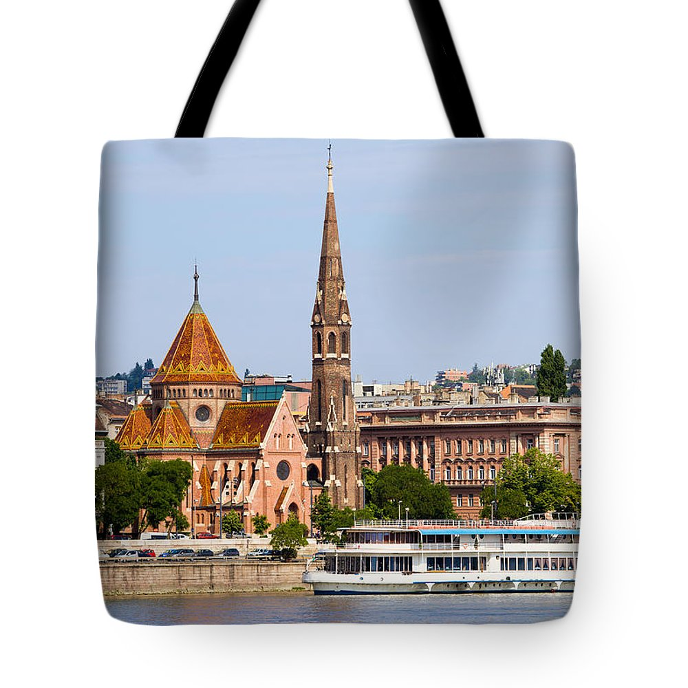 Budapest Tote Bag featuring the photograph City Of Budapest In Hungary by Artur Bogacki