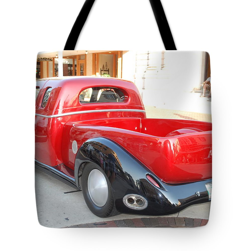 Downtown Ft.myers Tote Bag featuring the photograph Classic Custom Pickup Truck by Robert Floyd
