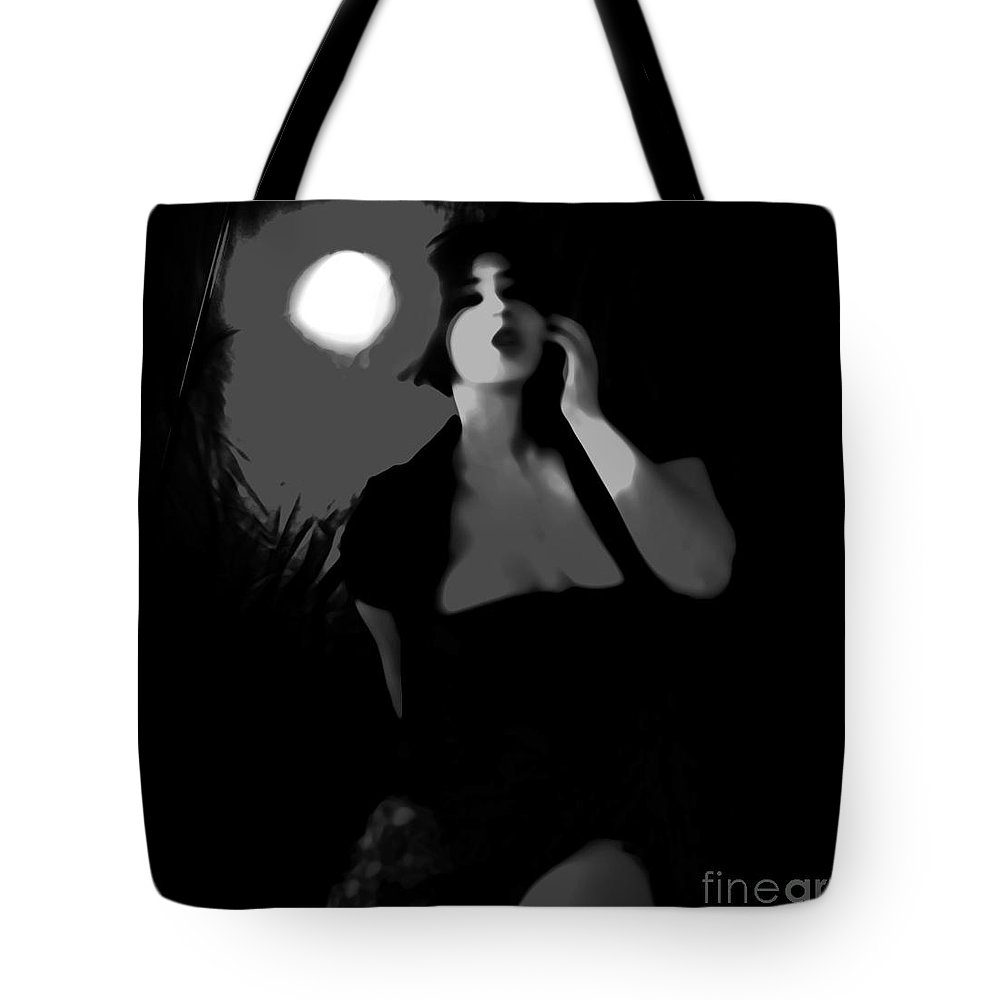 Black Tote Bag featuring the photograph Confusion by Jessica Shelton