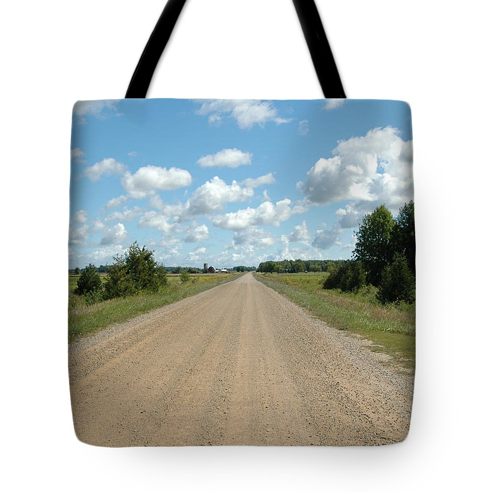 Landscape Tote Bag featuring the photograph Country Road by Scott Angus
