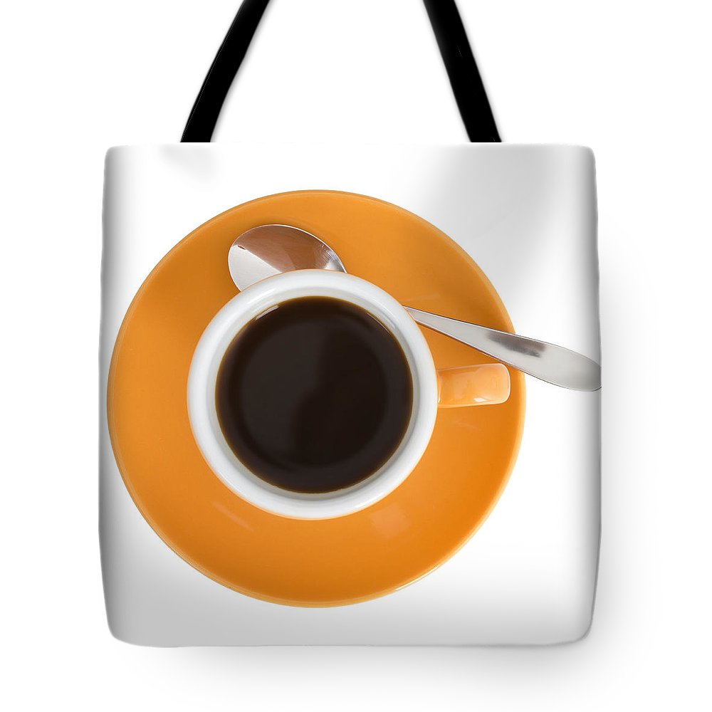 Coffee Tote Bag featuring the photograph Cup Of Coffee by Chevy Fleet