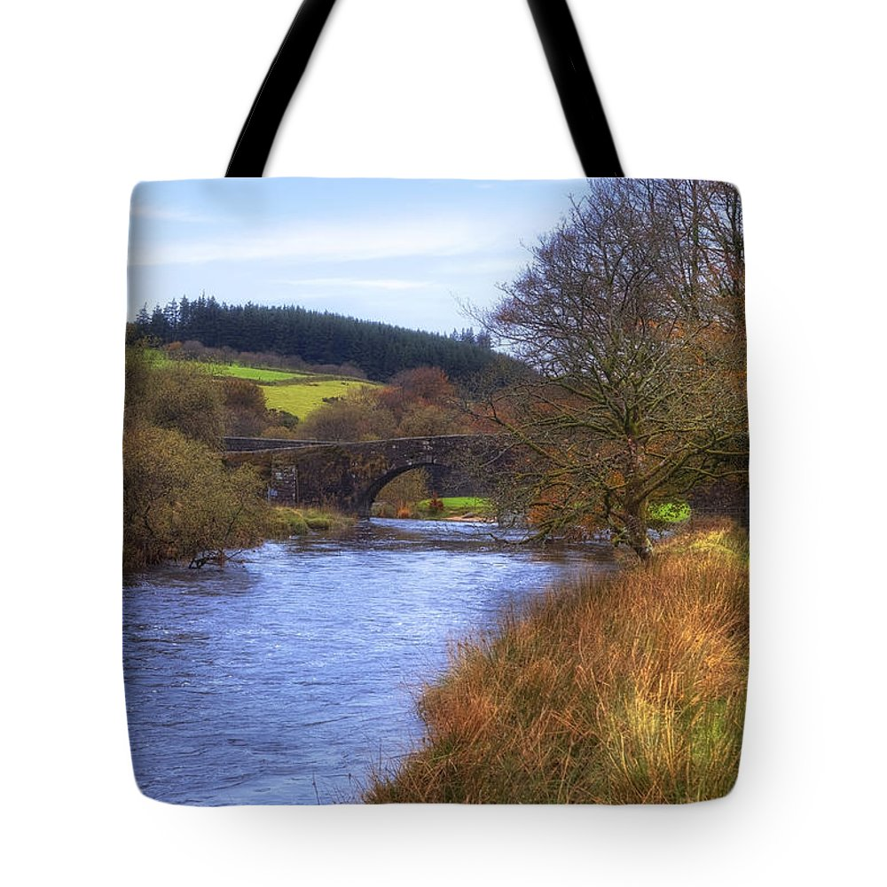 Two Bridges Tote Bag featuring the photograph Dartmoor - Two Bridges by Joana Kruse