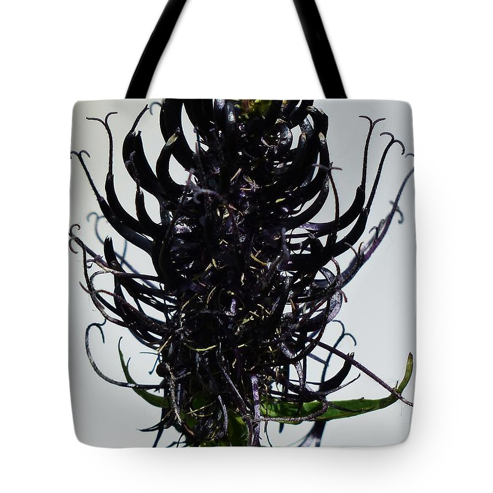 Flower Tote Bag featuring the photograph Devils Claw Flower by FL collection