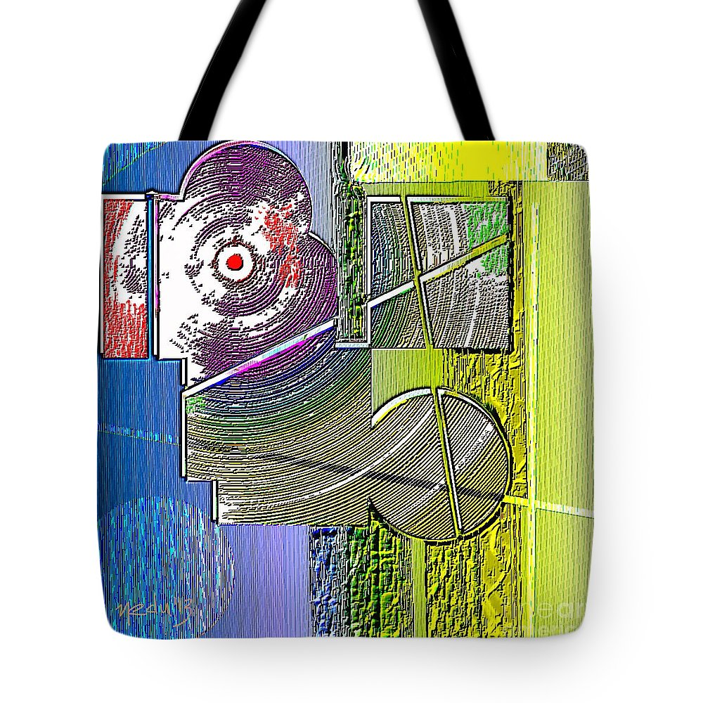 Art Prints Tote Bag featuring the painting Digital Design 580 by Nedunseralathan R