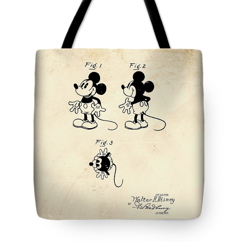 disney mickey mouse tote bag for sale by marlene watson