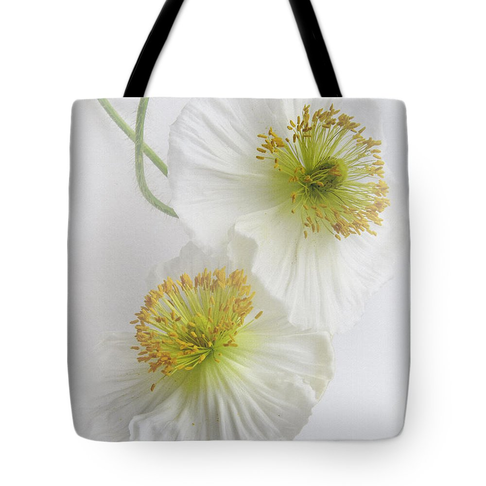 Bloom Tote Bag featuring the photograph Double Delight by David and Carol Kelly
