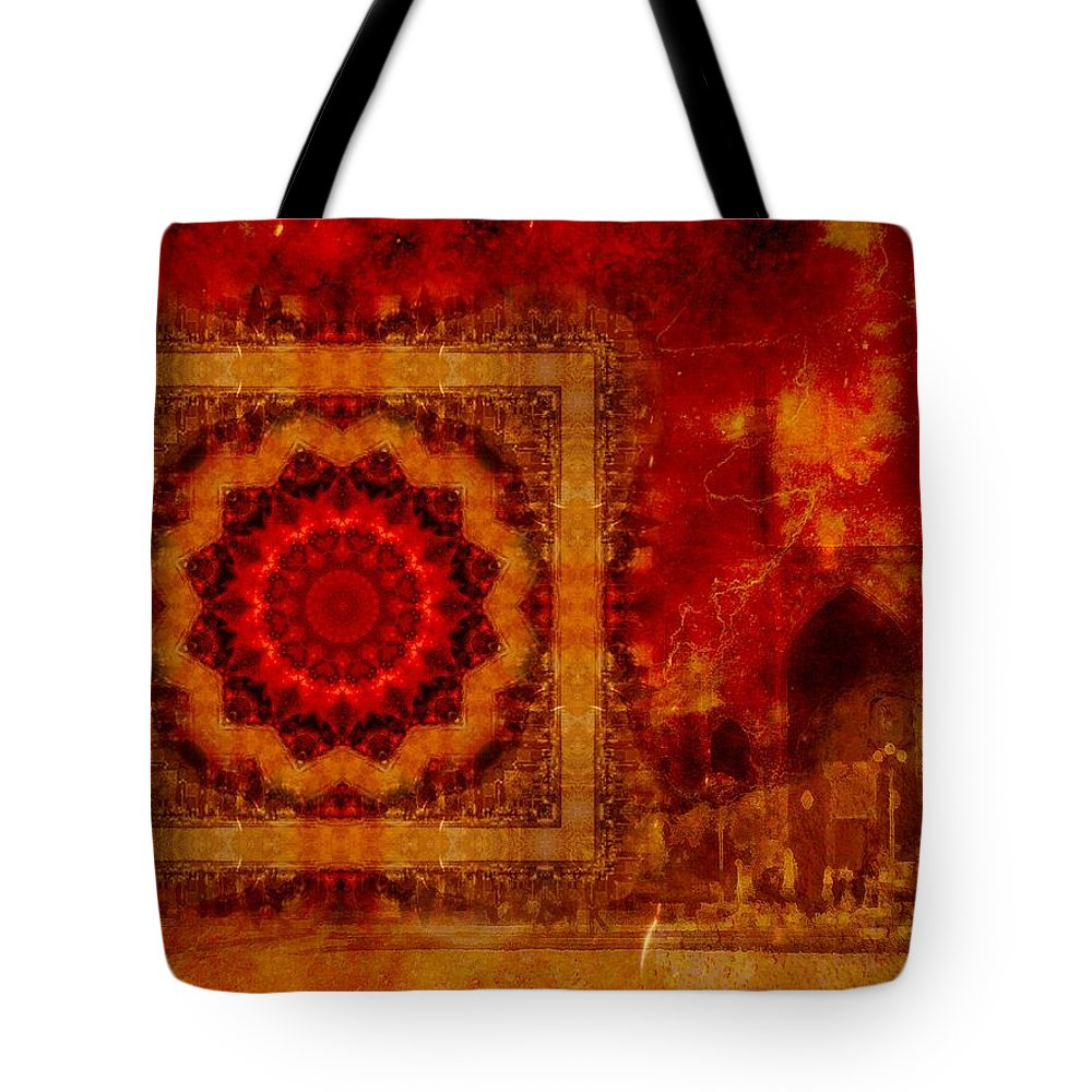 Isfahan Tote Bag featuring the photograph Dreams Of A 1000 Nights by Shannon Story