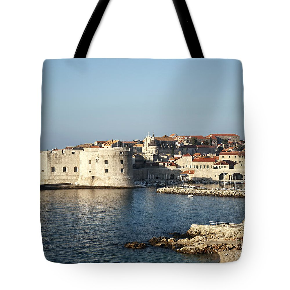 Adriatic Tote Bag featuring the photograph Dubrovnik In Croatia by Jacek Malipan