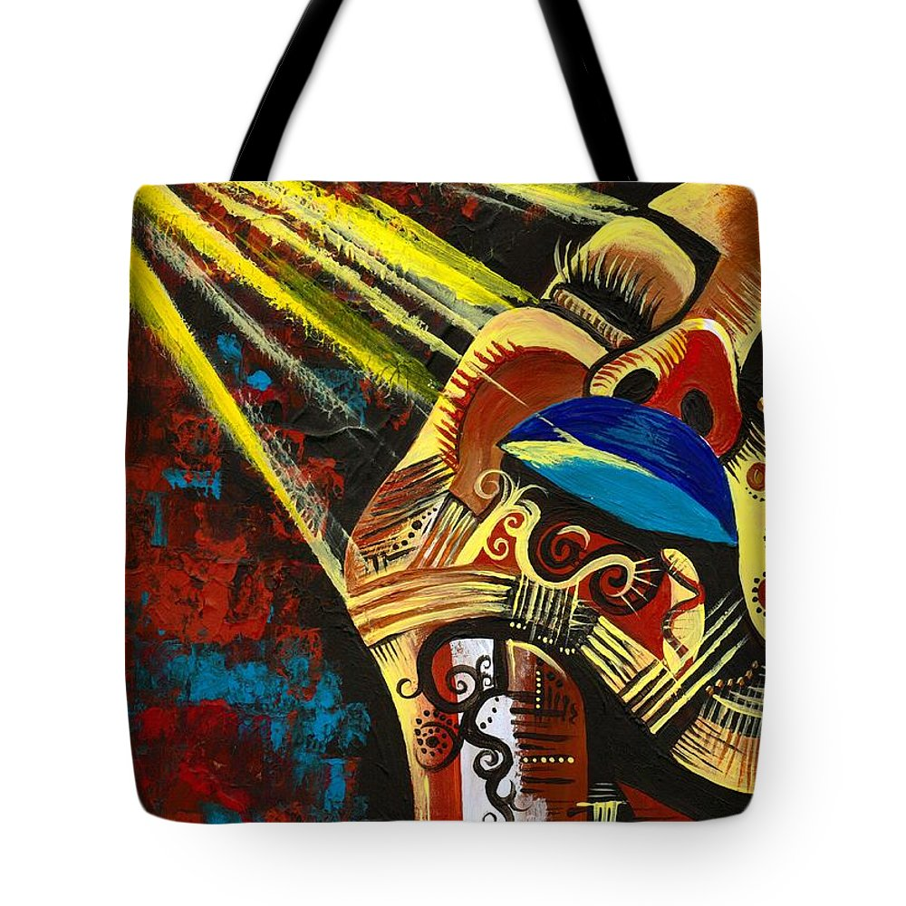 Artbyria Tote Bag featuring the photograph Feeling Good by Artist RiA