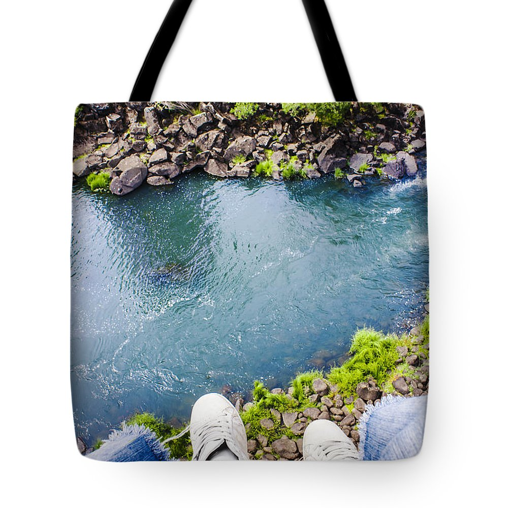 Australia Tote Bag featuring the photograph First Person View Riding The Tasmanian Chairlift by Jorgo Photography - Wall Art Gallery
