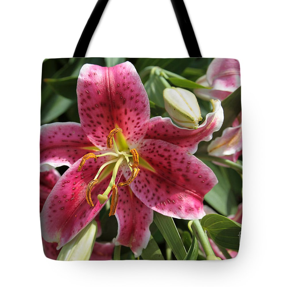 Flower Tote Bag featuring the photograph Flower by Dwight Cook