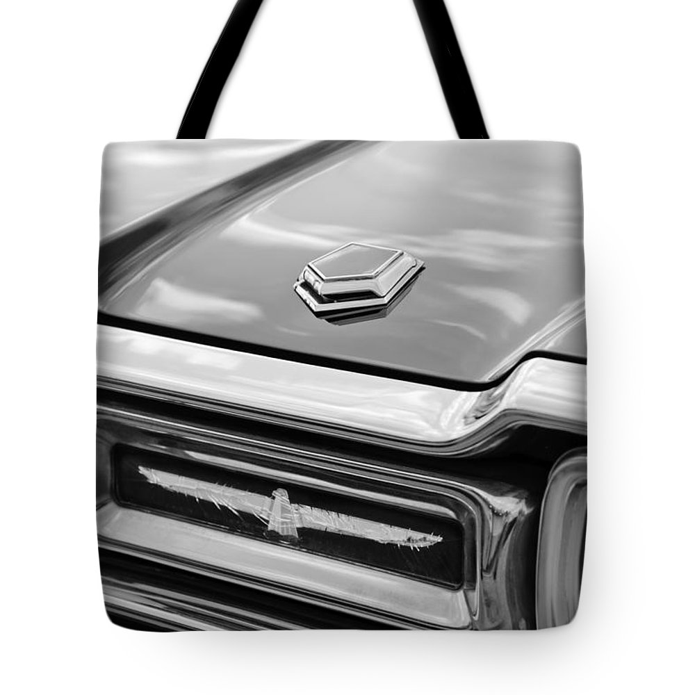 Ford Thunderbird Tail Lights Tote Bag featuring the photograph Ford Thunderbird Tail Lights by Jill Reger