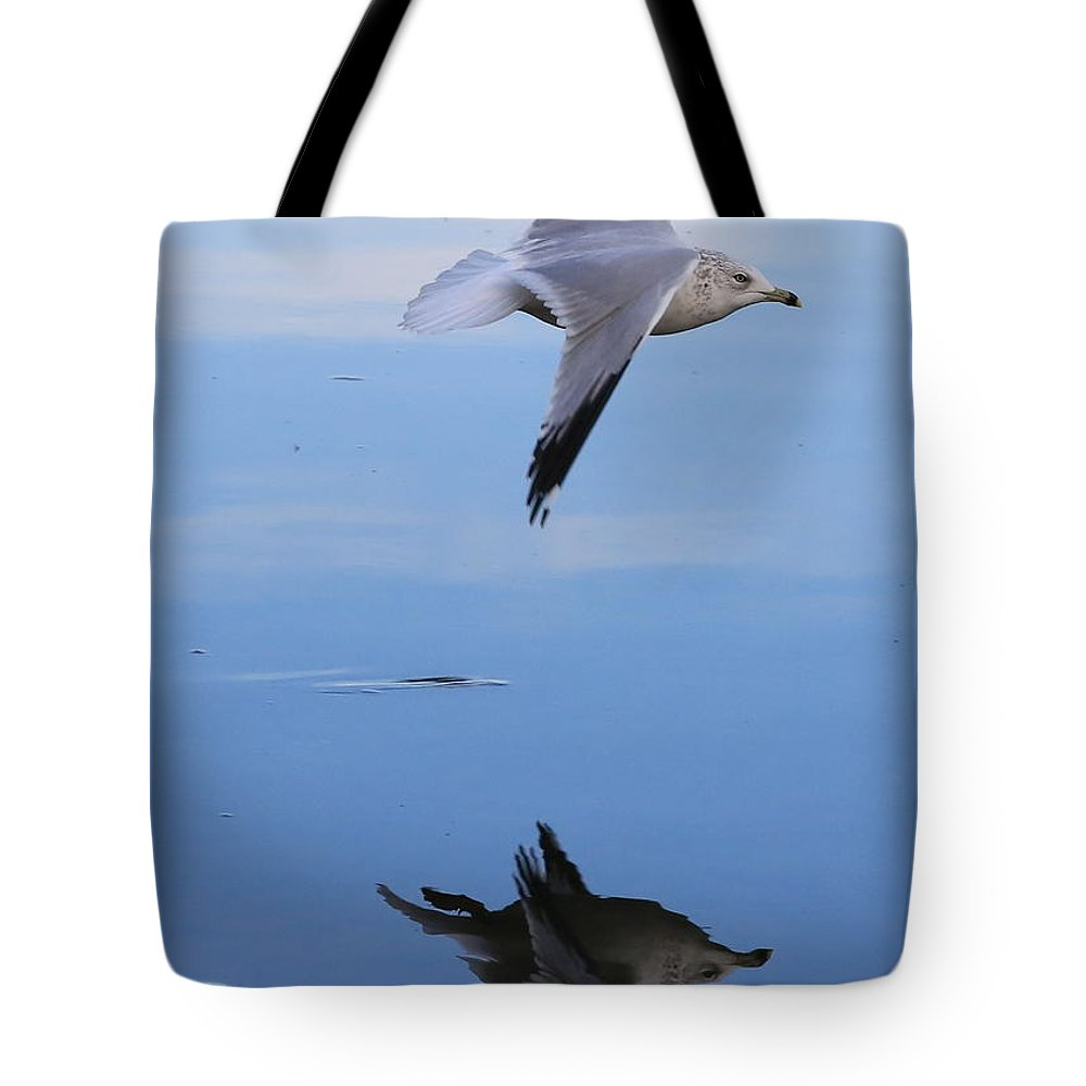 Bird Tote Bag featuring the photograph Free Spirit by Carol Groenen