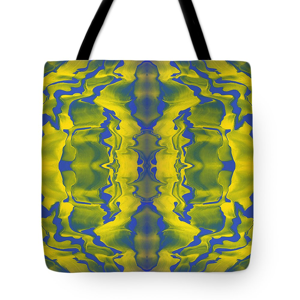 Original Tote Bag featuring the painting Generations 2 by J D Owen