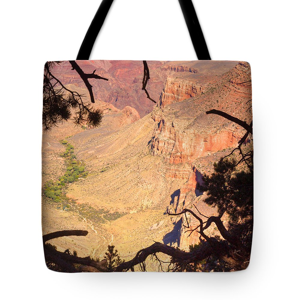 Grand Tote Bag featuring the photograph Grand Canyon 34 by Douglas Barnett