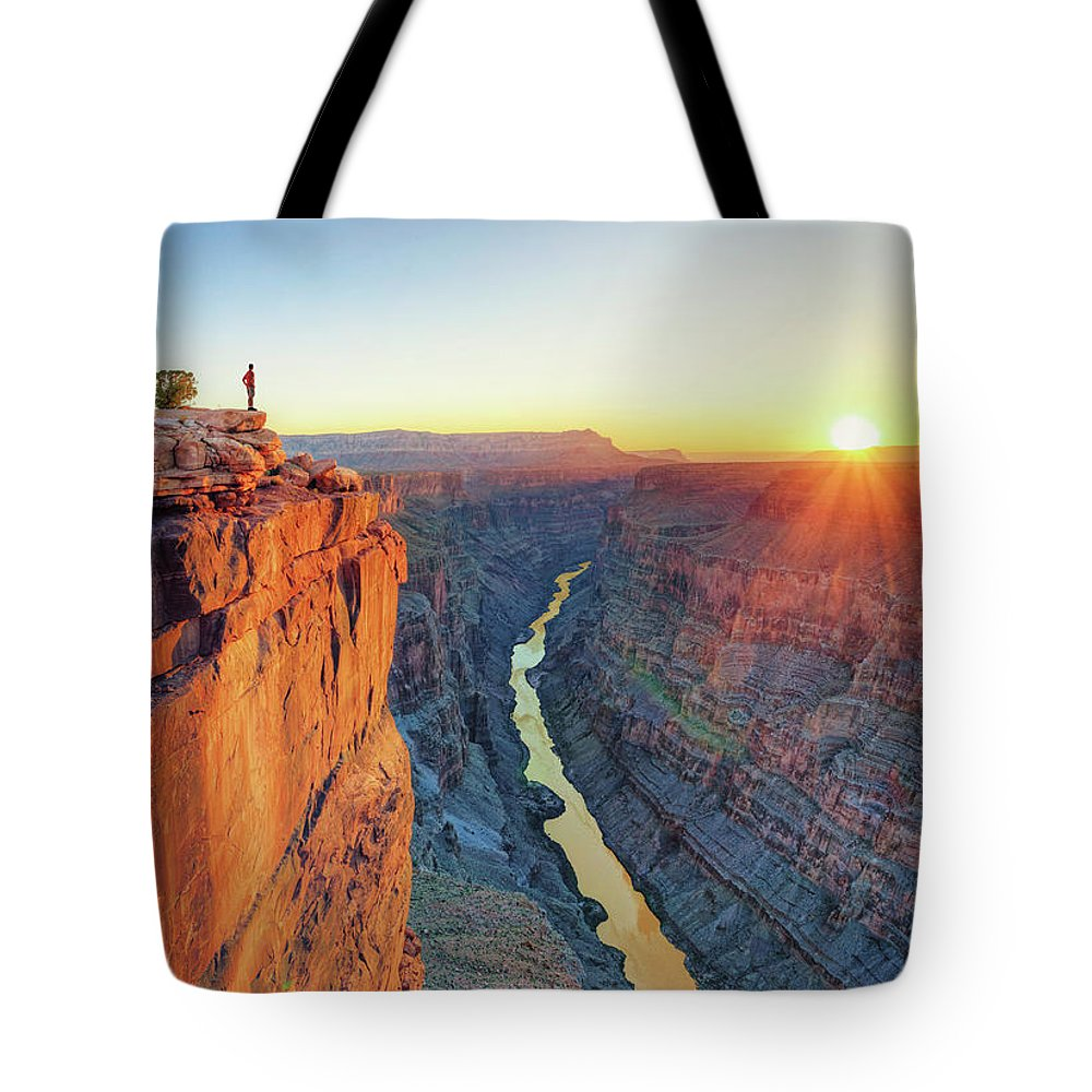 Scenics Tote Bag featuring the photograph Grand Canyon, Toroweap Lookout by Michele Falzone